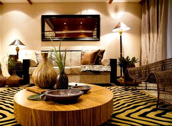 Incroyable Decoration Salon A Lu0027africaine