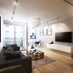 Décoration moderne salon appartement