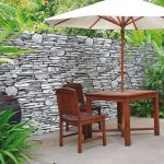 Décoration jardin mur