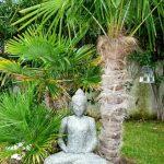 Objet decoration jardin japonais