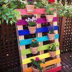 Decoration de jardin avec des palettes