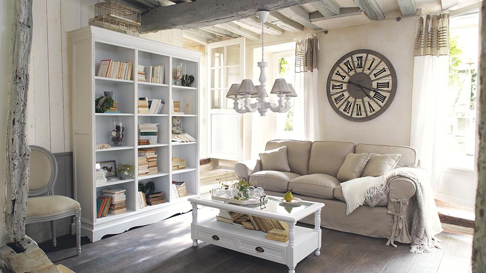 decoration petit salon romantique - design en image