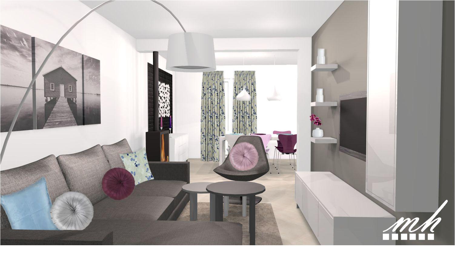 Decoration salon modern