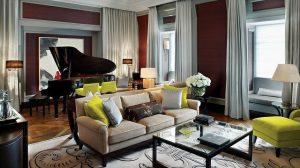 Decoration salon style anglais