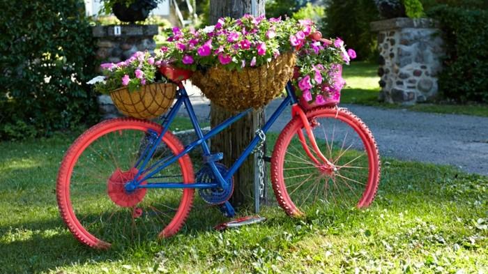 Décoration jardin vélo - Design en image