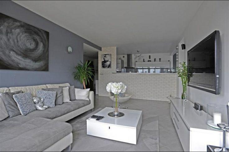 Décoration maison gris et blanc - Design en image