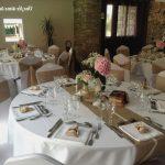 Decoration table mariage fait maison