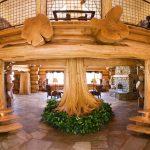 Décoration intérieure maison bois