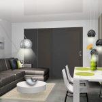Décoration intérieure maison salon