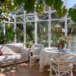 Décoration jardin d'hiver
