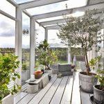 Décoration jardin d hiver