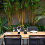 Decoration jardin avec bambou