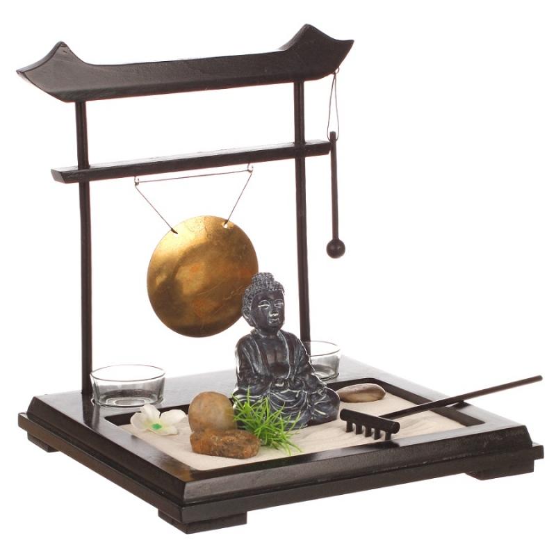 Objet décoration jardin zen - Design en image