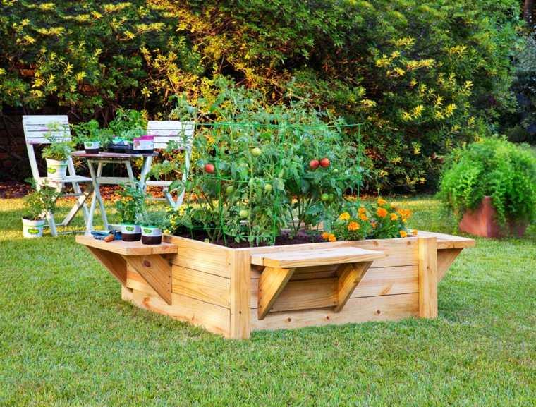 Décoration jardin récup
