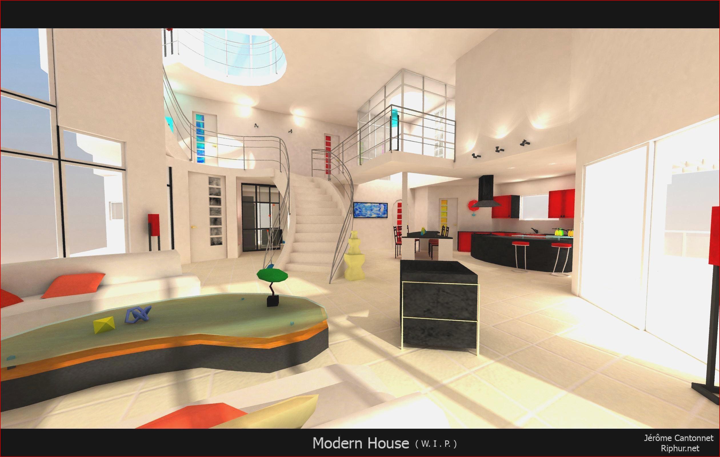 Jeux de décoration d'une maison entière - Design en image