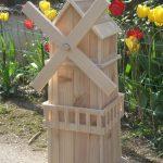 Decoration en bois pour jardin