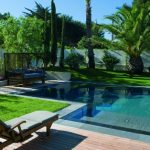 Décoration piscine jardin