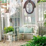 Decoration jardin miroir