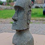 Decoration jardin moai
