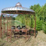 Decoration fer forge jardin