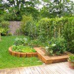 Jardin potager decoration
