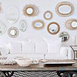 Decoration salon miroir