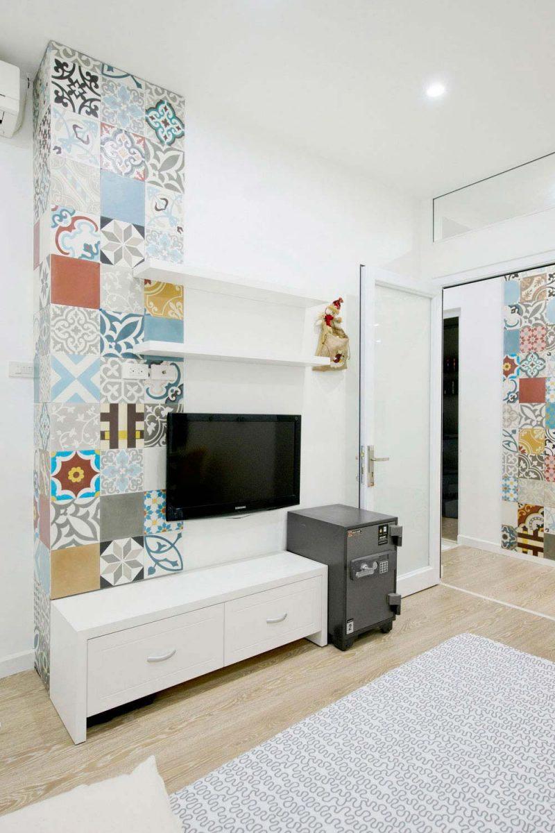 Decoration murale carreaux de ciment