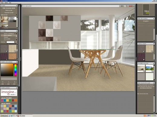 Logiciel amenagement decoration interieur design en image - Logiciel en ligne amenagement interieur ...