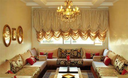 Decoration salon traditionnel marocain - Design en image
