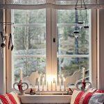 Decoration de noel pour fenetre interieur