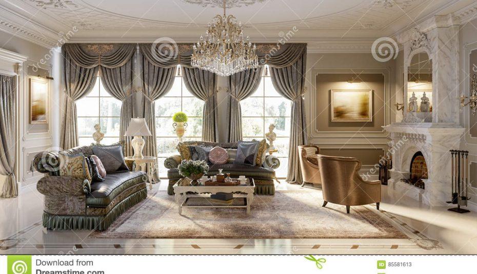 Decoration intérieure salon coloré - Design en image