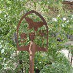 Decoration jardin en fer