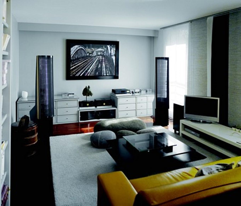 Decoration maison salon tv - Design en image