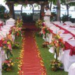 Wedding design decoration
