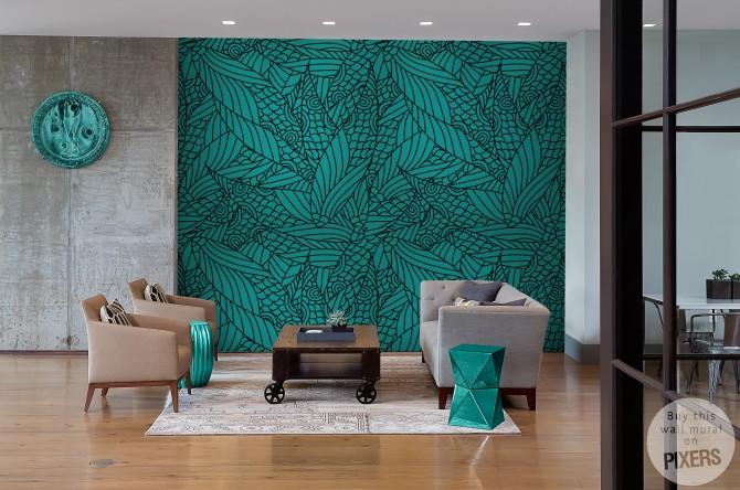 Decoration interieur papier peint