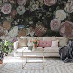 Decoration salon fleuri