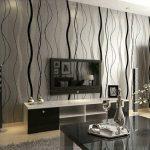 Décoration papier peint salon