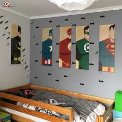 Decoration maison super hero