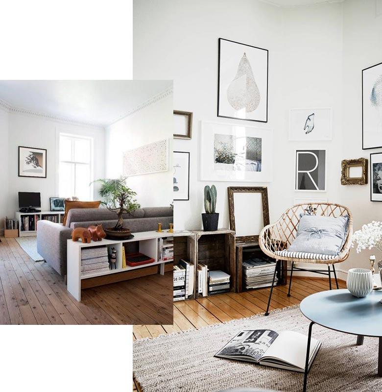 Idée décoration pour petit salon - Design en image