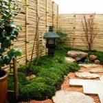 Décoration bambou jardin