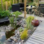 Decoration exterieure jardin japonais