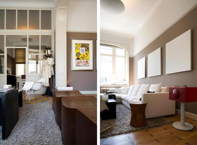 décoration salon appartement - design en image