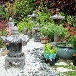 Objets décoration jardin japonais