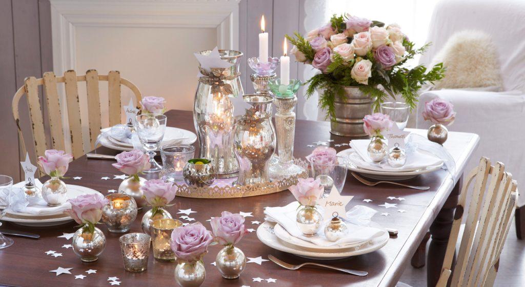 Décoration de table mariage maison