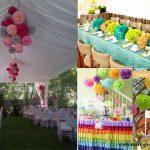 Decoration de jardin pour anniversaire