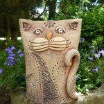Decoration ceramique pour jardin