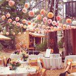 Decoration mariage theme jardin