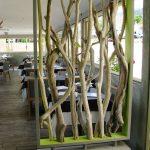 Décoration jardin bois flotté
