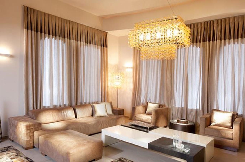 Decoration salon avec voilage - Design en image