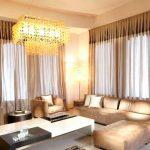 Decoration rideaux pour salon